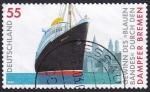 Stamps Germany -  vapor Bremen
