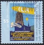 Stamps : Europe : Germany :  exposición aeronáutica