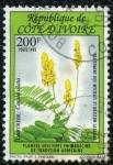 Stamps Africa - Ivory Coast -  Plantas Medicinales de Africa