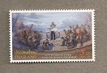 Stamps Asia - Thailand -  100 Aniv. abolición de la esclavitud
