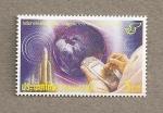 Stamps Thailand -  Día de las comunicaciones nacionales