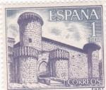 Stamps Spain -  CASTILLO DE JARANDILLA (42)