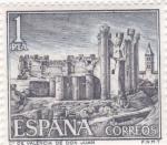 Stamps : Europe : Spain :  CASTILLO DE VALENCIA DE DON JUAN (42)