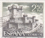 Stamps Spain -  CASTILLO DE VILLASOBROSO(42)