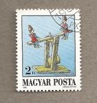 Stamps Hungary -  Juguetes antiguos