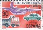 Sellos de Europa - España -  ESPAÑA EXPORTA VEHÍCULOS    (42)