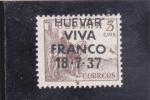 Stamps Spain -  EL CID- HUEVAR VIVA FRANCO (42)