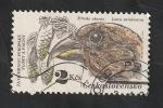 Sellos del Mundo : Europa : Checoslovaquia :  2532 - Fauna, loxia curvirostra