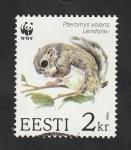 Sellos del Mundo : Europa : Estonia :  242 - Fauna, pteromys volans