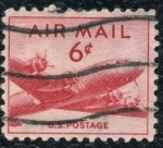 Stamps United States -  Correo Aereo