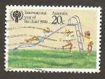 Sellos de Oceania - Australia -  712