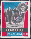 Stamps Paraguay -  Alfredo Stroessner