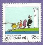 Sellos de Oceania - Australia -  1077