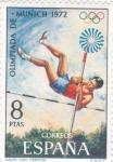 Stamps Spain -  OLIMPIADA MUNICH'72 (42)