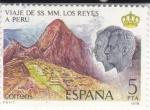 Stamps : Europe : Spain :  viaje de SS.MM. los reyes a Peru (42)