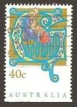 Sellos de Oceania - Australia -  1345