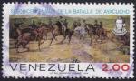 Stamps Venezuela -  batalla de Ayacucho