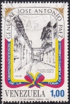 Sellos de America - Venezuela -  General José Antonio Paez