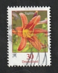 Stamps : Europe : Germany :  Flor Lirio
