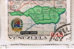 Sellos del Mundo : America : Venezuela : Mapa del Estado Apure