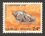 Stamps Oceania - Samoa -  489