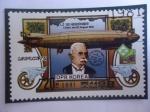Stamps : Asia : North_Korea :  Zeppelin Aeronave-Zeppelin JZ 120 Bodensee- Dirigible - Exposición de Sellos Naposta 81, Stuttart (A