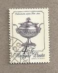 Stamps Hungary -  Azucarero de plata de 1822