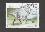 Stamps Laos -  Caballo blanco