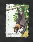 Stamps Oceania - Australia -  Fauna, pteropus conspicillatus
