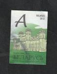 Stamps Belarus -  776 - Castillo de Kossava
