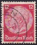 Stamps : Europe : Germany :  Presidente Hindenburg