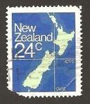 Sellos de Oceania - Nueva Zelanda -  649