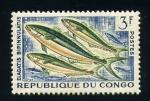 Stamps Africa - Republic of the Congo -  Elagatis bipinnulatus