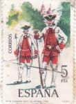 Stamps : Europe : Spain :  FUSILERO RGTO.DE VITORIA(42)