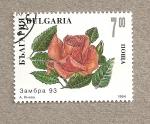 Sellos de Europa - Bulgaria -  Rosa