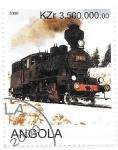Sellos del Mundo : Africa : Angola : trenes