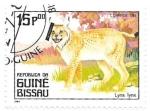 Sellos del Mundo : Africa : Guinea_Bissau : felinos