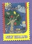 Sellos de Oceania - Nueva Zelanda -  SC6