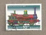 Stamps Bulgaria -  Locomotora de 1847