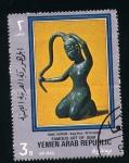Stamps Asia - Yemen -  Arte de Siam