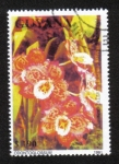 Stamps Guyana -  Orquídeas
