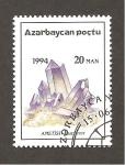 Sellos de Asia - Azerbaiyán -  422