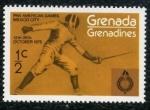 Sellos de America - Granada -  Juegos Panamericanos