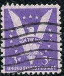 Sellos de America - Estados Unidos -  Victoria en la guerra