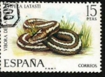 Stamps Spain -  Lataste's Viper (Vipera latasti) 2097