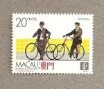 Stamps Asia - Macau -  Medios transporte