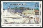Sellos del Mundo : America : Anguila : 1980 Olympic Winter Games - Lake Placid