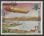Sellos del Mundo : America : Paraguay : 200 aniversario de la Aviación (1983)