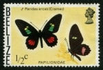 Stamps America - Belize -  Mariposa