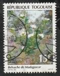Stamps : Africa : Togo :  1342 - Flora, Planta Belvache de Madagascar